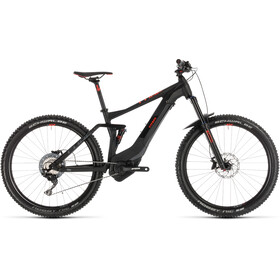 Cube Stereo Hybrid 140 Pro 500 E-MTB fullsuspension sort